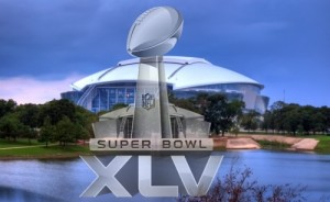 SuperBowlXLV at Dallas Cowboys Stadium