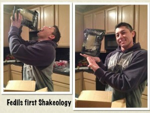 Excited to get my Shakeology in so that I can get healthier.