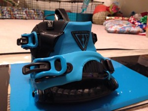 Loved my new Cinch bindings and I was pleasantly surprised they matched my board perfectly!