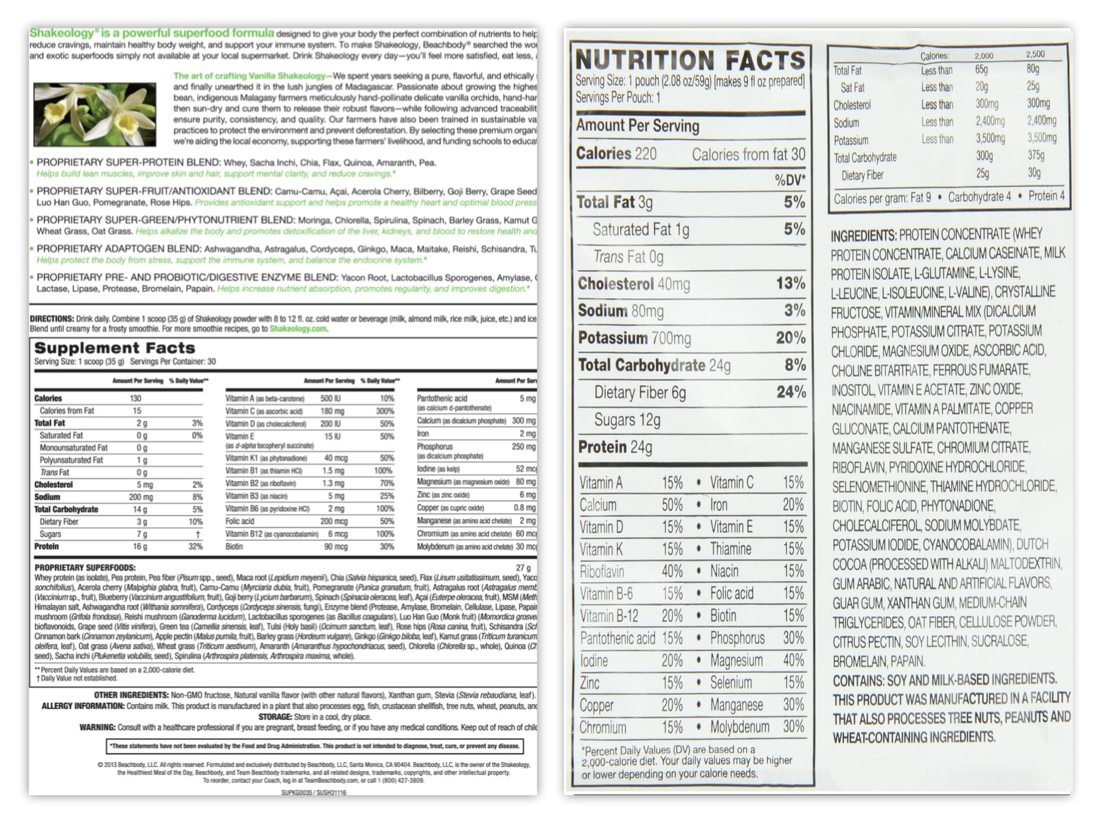 This is an image of Exceptional Meal Replacement Private Label